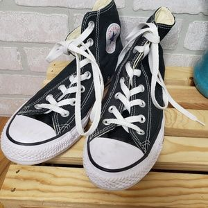 Converse Black Hi Top Sneakers
